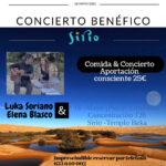 Concierto Benefico  Luka Soriano & Elena Blasco - Sirio