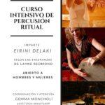 Curso intensivo de percusión ritual con Eirini Delaki
